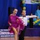 Многократные чемпионы харьковских и всеукраинских турниров Никита Курушин и Юлия Дудина